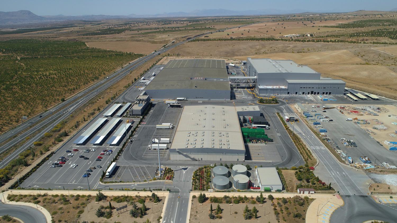 centro logístico en Guadix