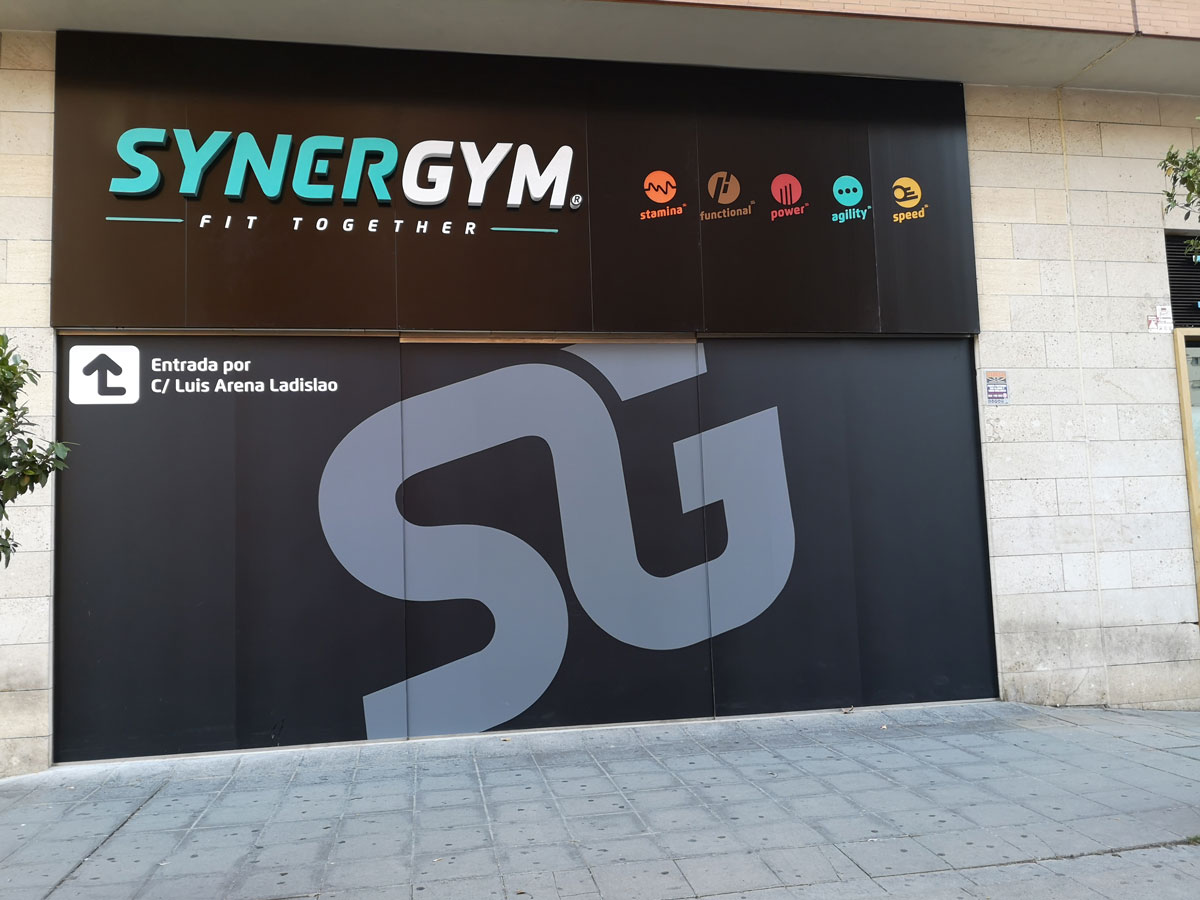 Constructora de Gimnasio Synergym Sevilla