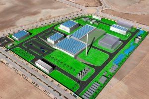 Plano del Proyecto IFMIF-DONES (Acelerador de Partículas)